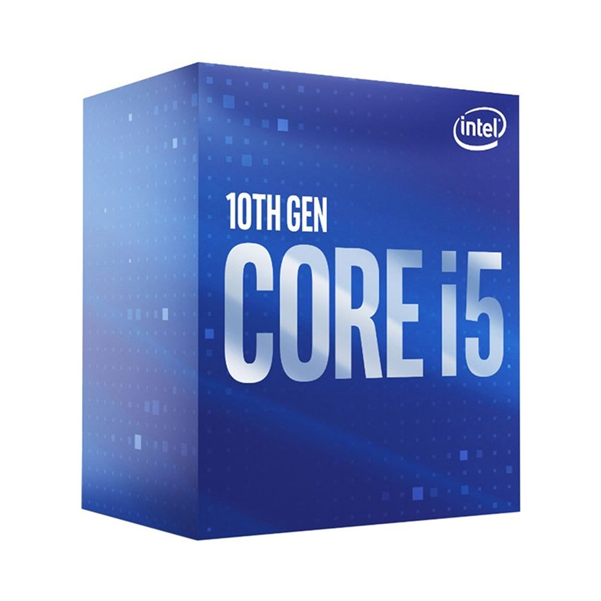 CPU Intel Core i5-10400F (2.9GHz turbo up to 4.3Ghz, 6 nhân 12 luồng, 12MB Cache, 65W) - Socket Intel LGA 1200
