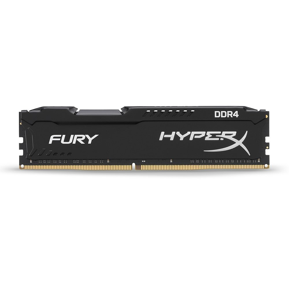 Kit Ram 4 Kingston HyperX Fury Black 16GB /2666MHz (2*8GB) - HX426C16FB2K2/16