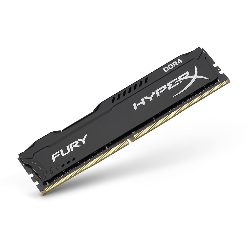 DDRam 4 Kingston HyperX Fury Black 16GB/2666 (1*16GB) + HX426C16FB/16