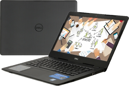 Laptop Dell Vostro 3480 70183777(/7706) i3 8145/4G/1TB/14.0//Win 10/1.79kg.Part: 70183777 Bộ vi xử lý :  Intel Core i3+ 8145U (2.1GHz/4MB cache), Ram 4GB DDR4 2666Mhz,Ổ cứng 1TB SATA 5400rpm
