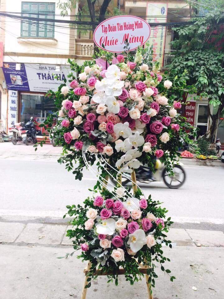 Kết quả hình ảnh cho hoa chúc mừng khai trương