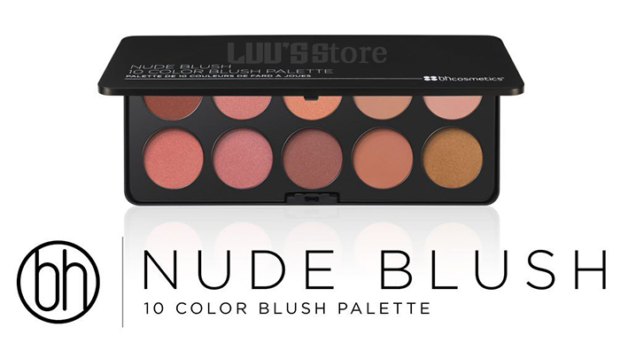 Bảng Phấn Mắt Má BH Cosmetics Forever Nude Palette 5.6g