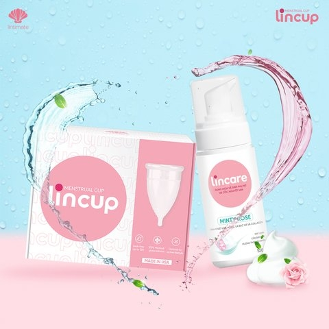 COMBO MÁT NHẸ LINCUP & LINCARE MINTY ROSE