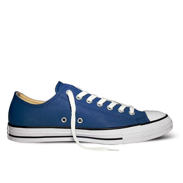 Giày Converse Chuck Taylor All Star Leather Blue - Low - 149495V