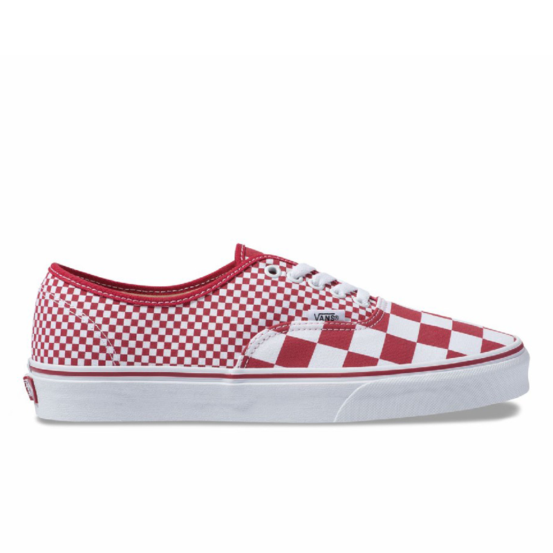 Giày Vans Authentic Mix Checker Chili Pepper