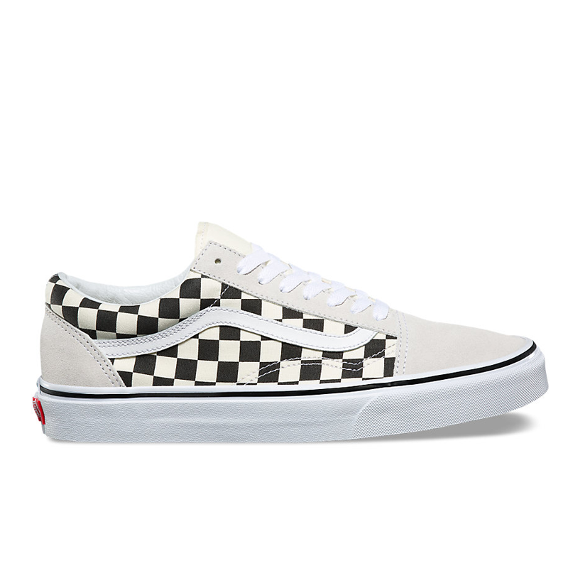 Giày Vans Old Skool  Checkerboard  Black / White
