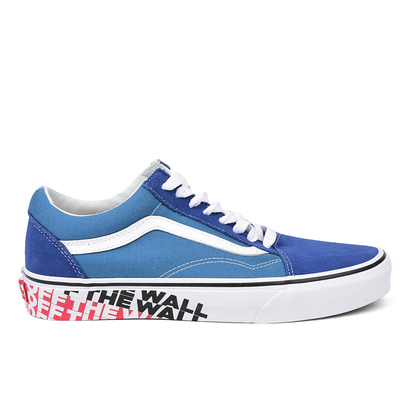 Giày Vans Old Skool Off The Wall Sidewall True Navy