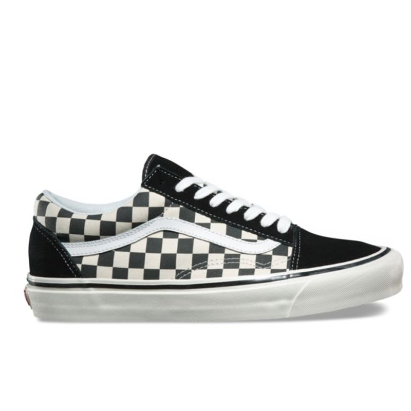 Giày Vans Old Skool Anaheim Factory Checkerboard - VN0A38G2OAK