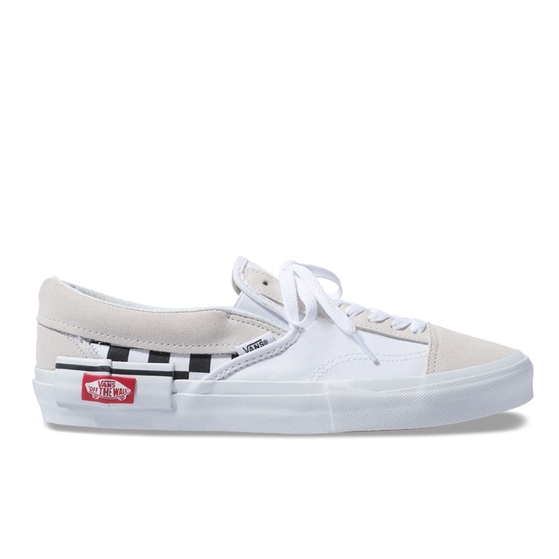Giày Vans Slip-On Cut And Paste True White
