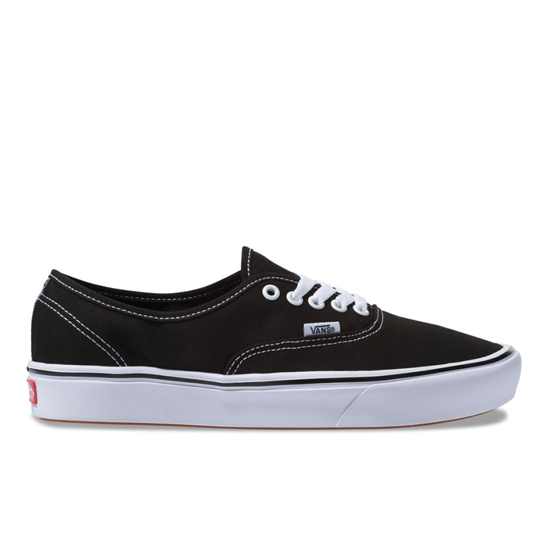 Giày Vans Authentic Comfycush Black White