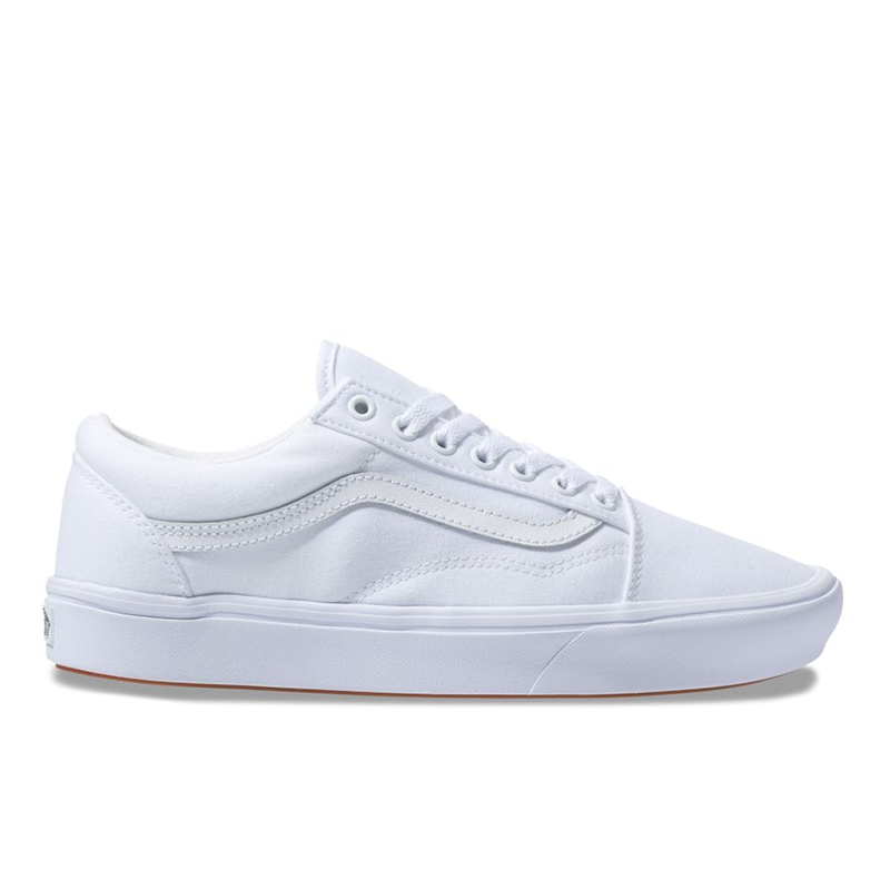 Giày Vans Old Skool Comfycush All White