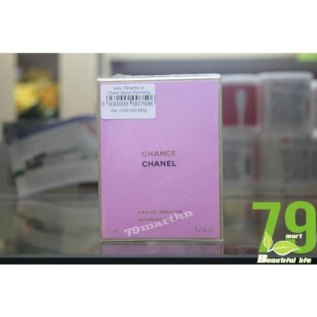 Chanel Chance Eau Tendre 50ml hồng