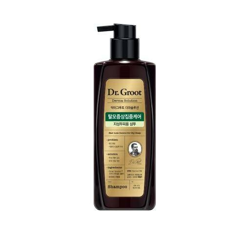Dầu Gội Ngăn Rụng Tóc Dr.Groot Hair Loss Cotrol For Oily Scalp Shampoo 400ml