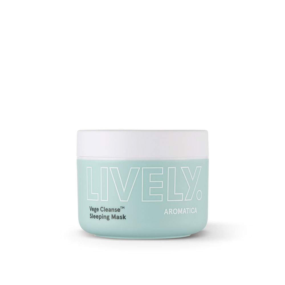 Mặt Nạ Ngủ Rau Củ Aromatica Lively Vege Cleanse Sleeping Mask​ 100g