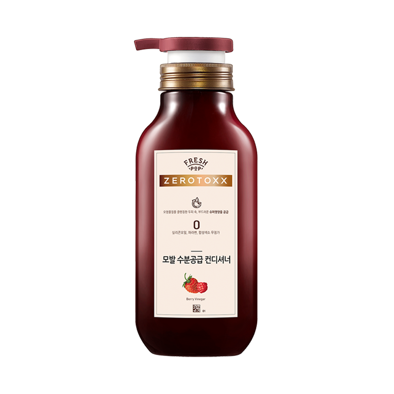 Dầu Xả Dưỡng Ẩm Fresh Pop Zerotoxx Berry Vinegar Moisture Conditioner 500ml