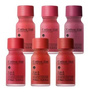 Son Tint Lì Mịn Mượt Macqueen New York Air Cotton Tint - No.6 Burgundy