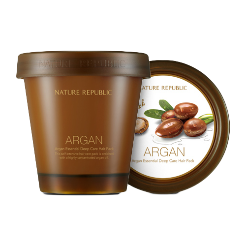 Kem Ủ Tóc Nature Republic Argan Essential Deep Care Hair Pack 200ml