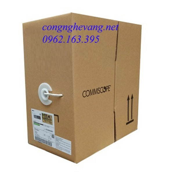 Cáp Mạng Commscope/AMP Cat5e UTP PN: 6-219590-2