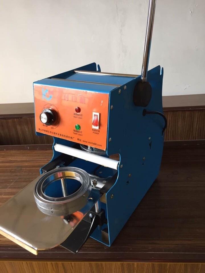 Máy Dán Miệng cốc cũ thanh lý, bán máy ép nắp cốc cũ 0913040613 | đồ cũ hoàng quỳnh | docuhaiphong.vn