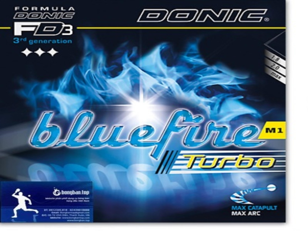 Donic Blue Fire M1 Turbo
