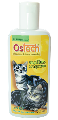 Ostech cat shampoo herbal
