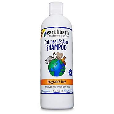Earthbath Fragrance Free Oatmeal & Aloe Totally Natural Pet Shampoo