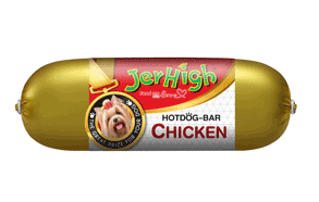 Jerhigh xúc xích Gà 150g | Hot dog bar Chicken