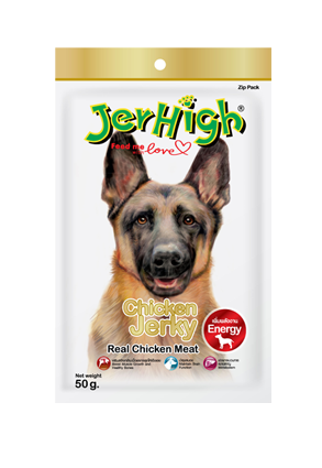 Jerhigh Chicken Jerky 50g