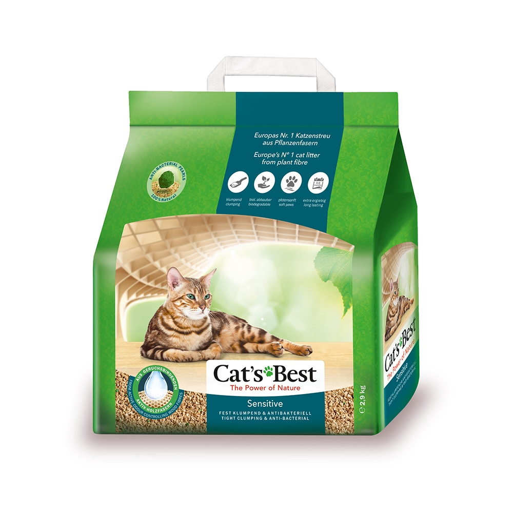 Cát vệ sinh Cat's Best Original Sensitive 2.9kg