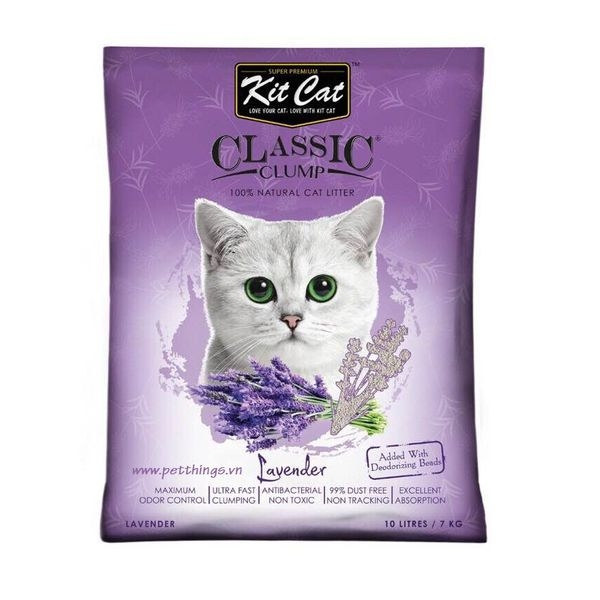 Kit Cat Clumping Lavender 10L