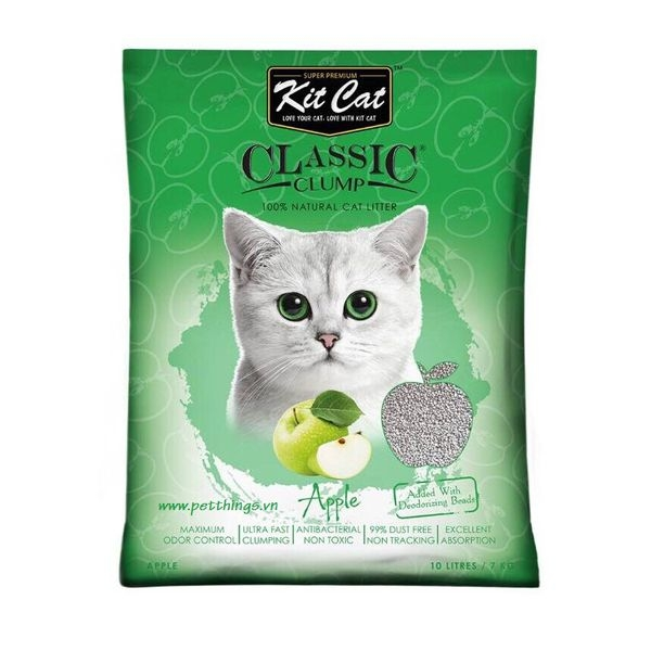 Kit Cat Clumping Appple 10L