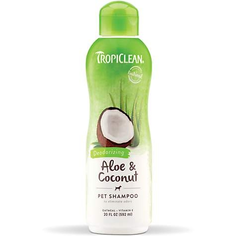TropiClean Aloe and Coconut Pet Shampoo