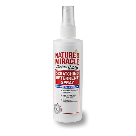 Nature's Miracle No-Scratch Cat Deterrent Spray