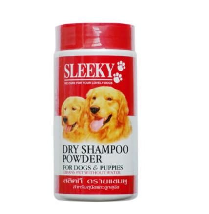 SLEEKY Dry shampoo for dogs and puppies