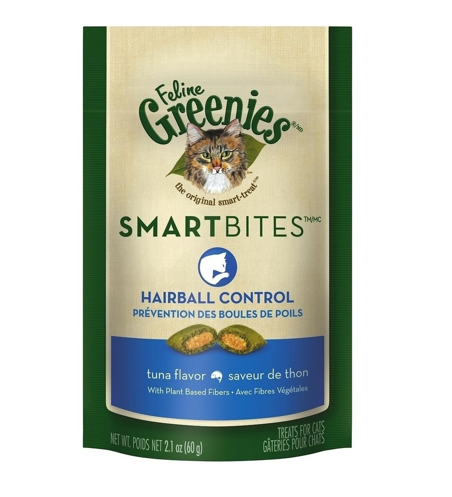 Greenies Cat Treat Smartbite Hairball 60g