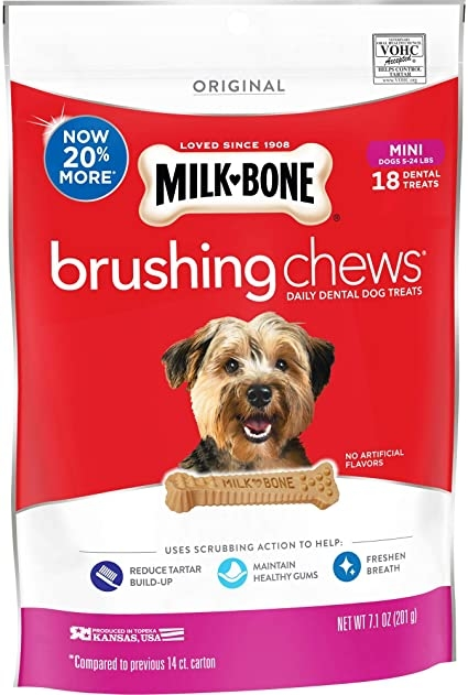 Milkbone BrushingChew Mini 200g