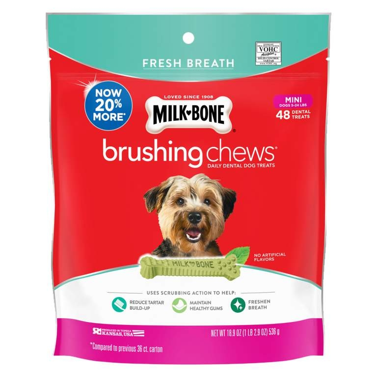 Milkbone BrushingChew Mini Fresh 536g