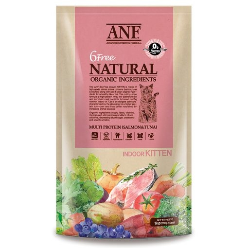 ANF Cat 2kg 6 Free Natural Indoor Kitten