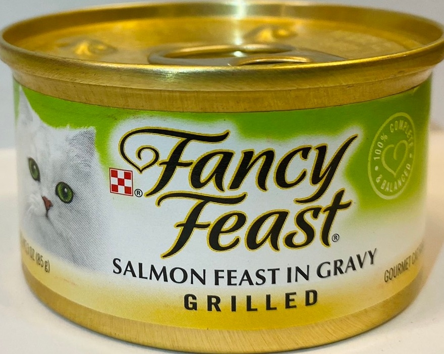 FANCY FEAST Pate Mèo Vị CáHồi-Cat Pate Salmon in Gravy 85g