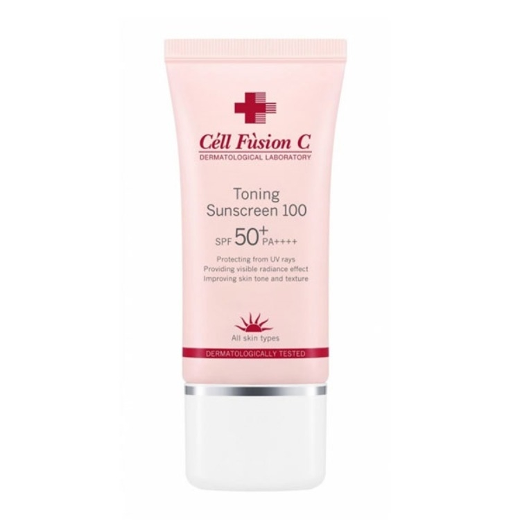 Cell Fusion C Toning Sunscreen 100 SPF 50+/PA++++.
