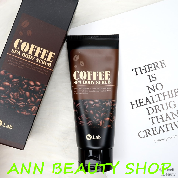 Tẩy da chết Body W.Lab Coffee Spa Body Srub
