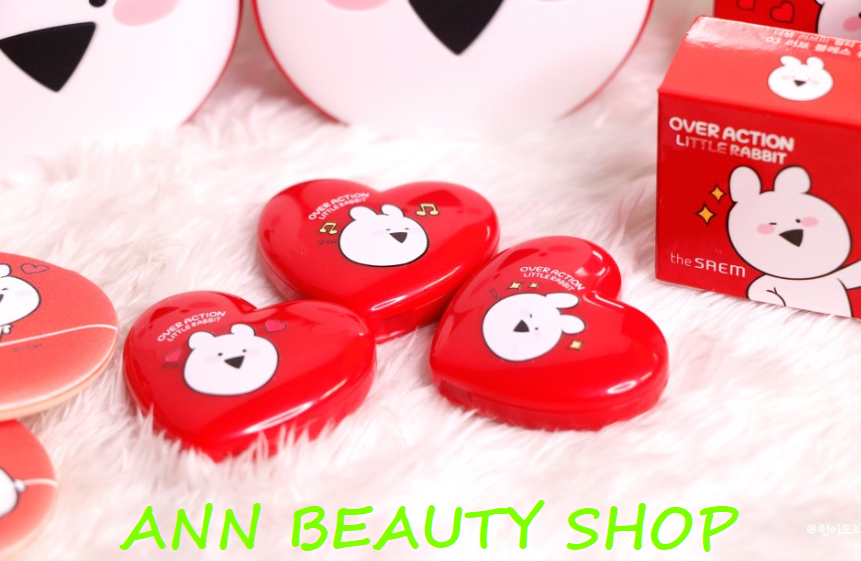 Son dưỡng 2in1 THE SAEM LOVE ME MULTI POT (phiên bản Over Action Little Rabbit)