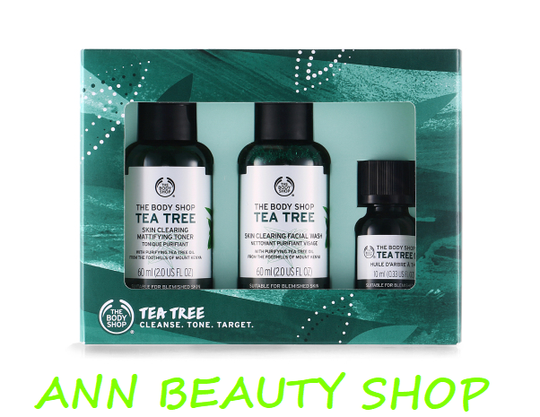Set 3 món TBS TEA TREE KIT 1 2 3