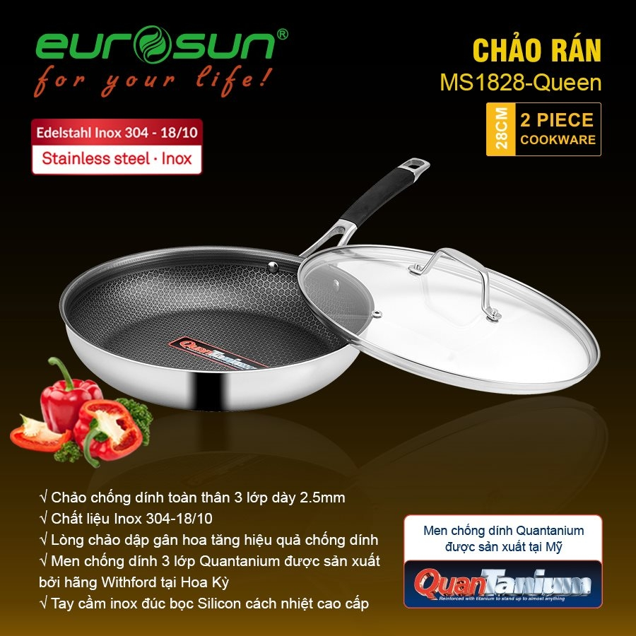 Chảo Eurosun MS1828 Queen