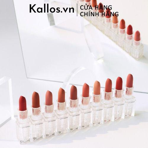 Son Lì 3CE Soft Matte Lipstick Clear Layer Edition