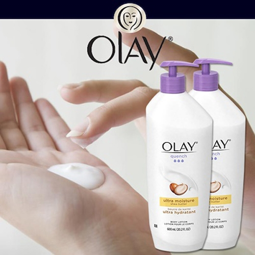 Sữa Dưỡng Thể Olay Quench Ultra Moisture Shea Butter