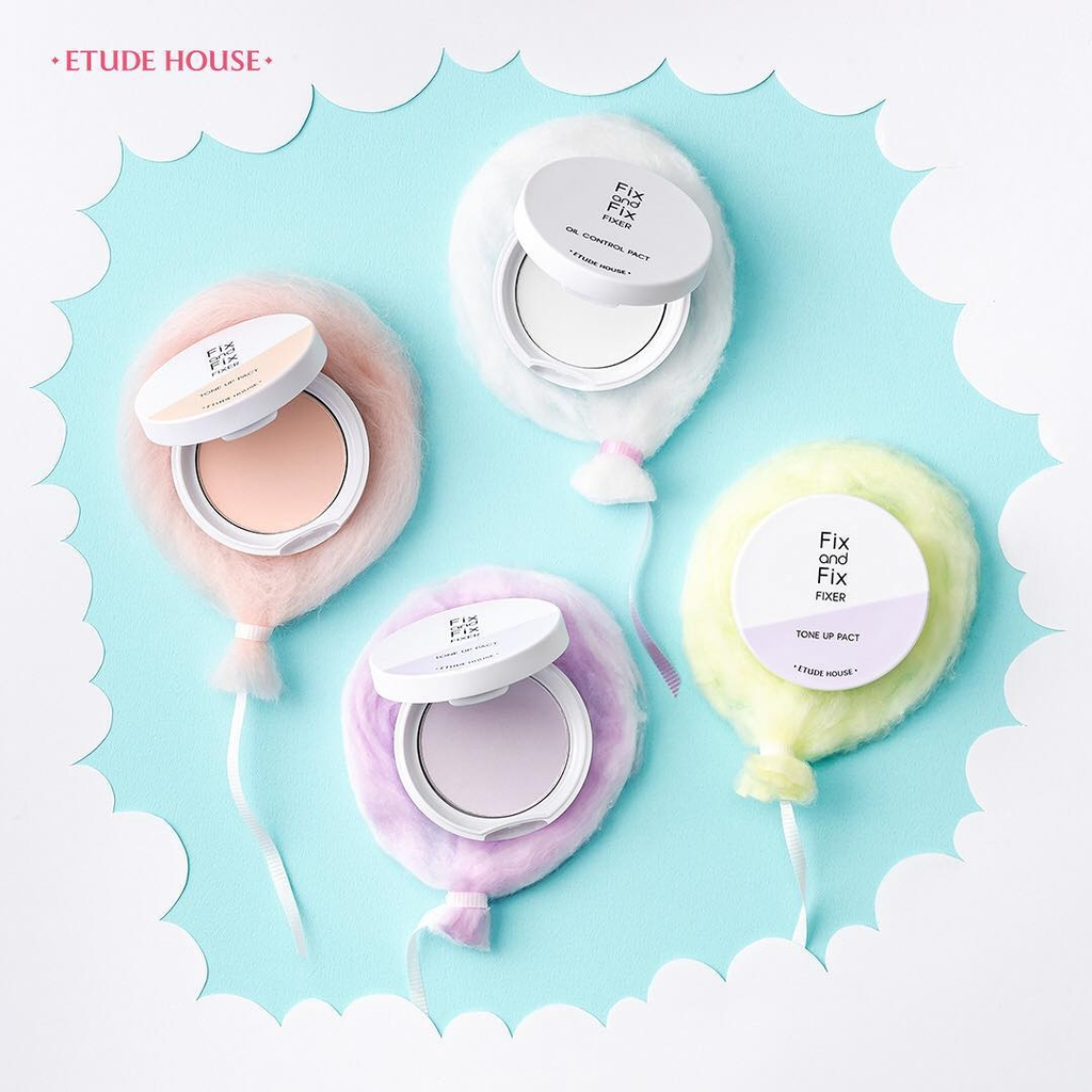 Phấn Phủ Etude House Fix And Fix Tone Up Pact