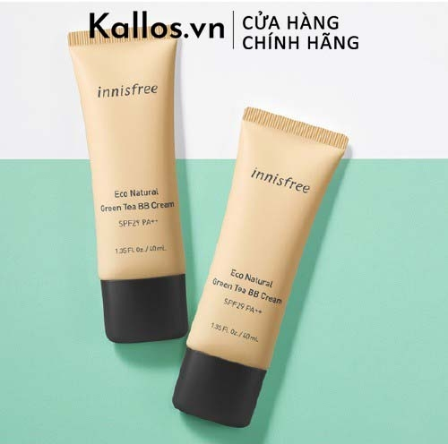 Kem Nền Trà Xanh Innisfree Eco Natural Green Tea BB Cream SPF29