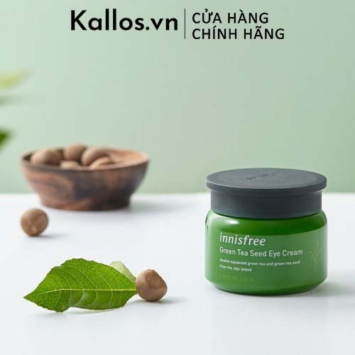 Kem Mắt Innisfree Green Tea Seed Eye Cream