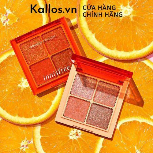 Phấn Mắt Innisfree Orange Jewel Glow Topper Eyeshadow